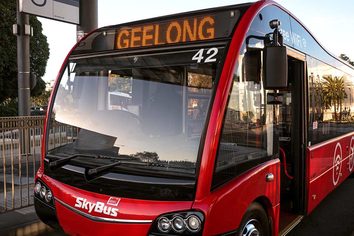 SkyBus Geelong Station