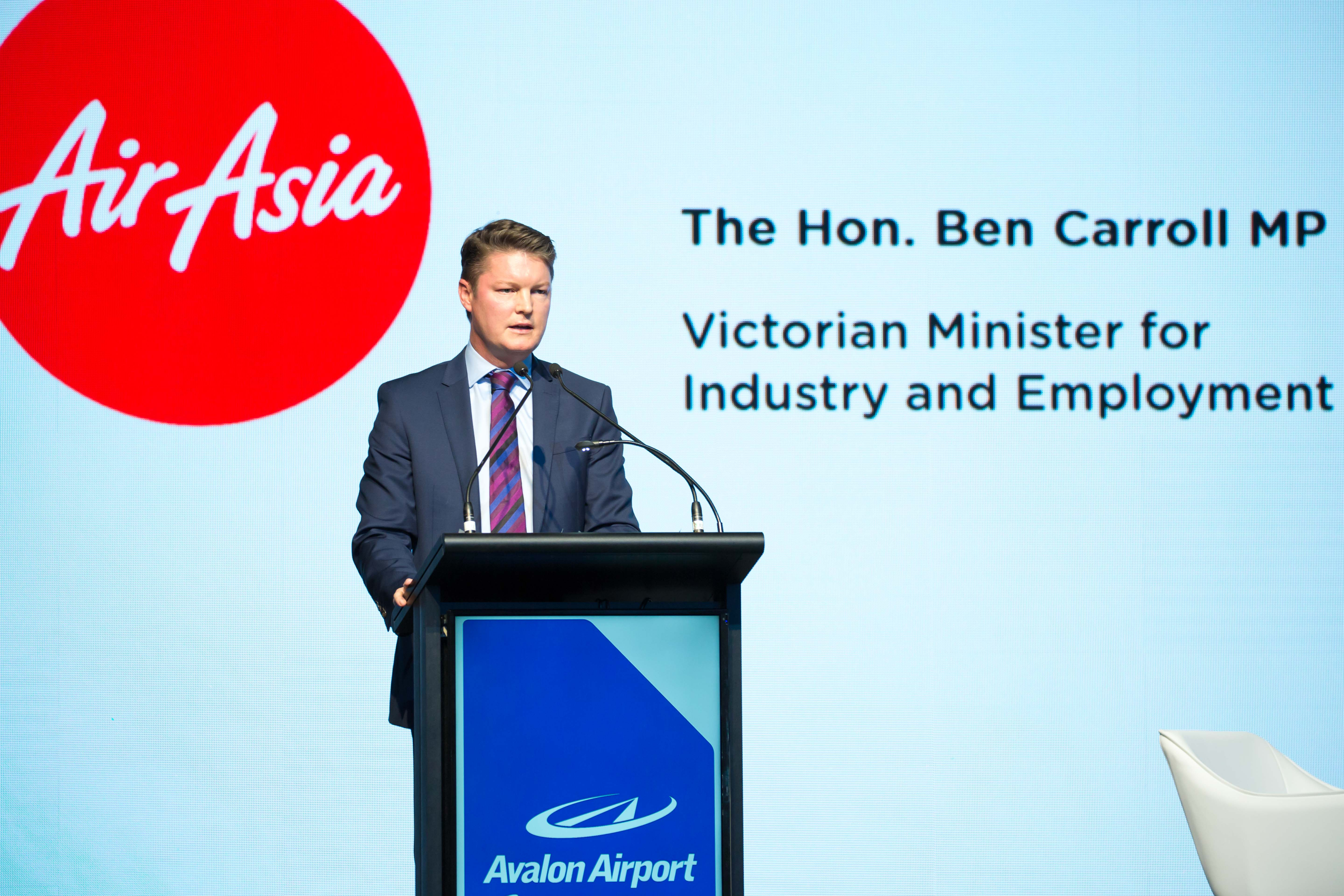 The Hon. Ben Carroll MP