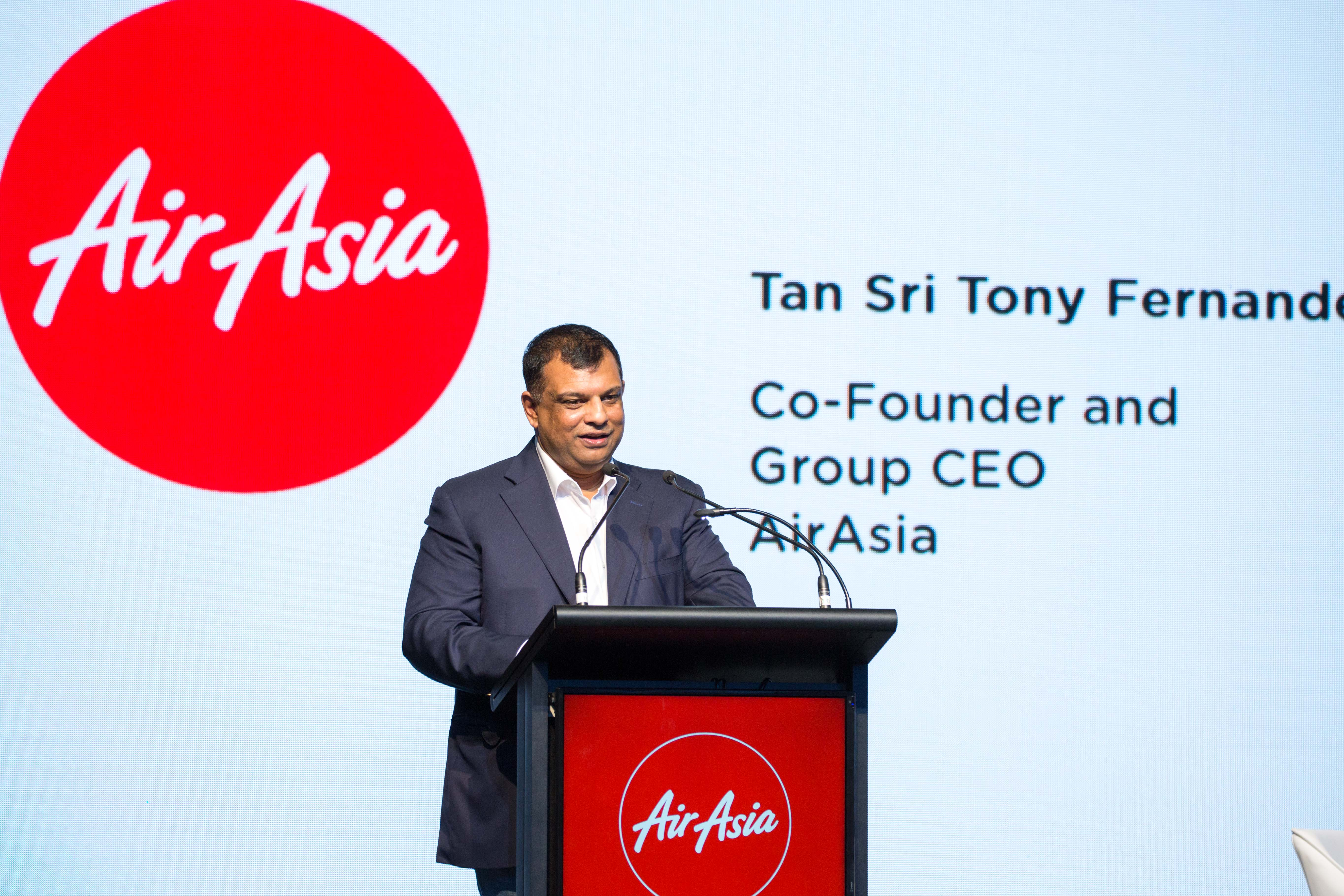 Tan Sri Tony Fernandes