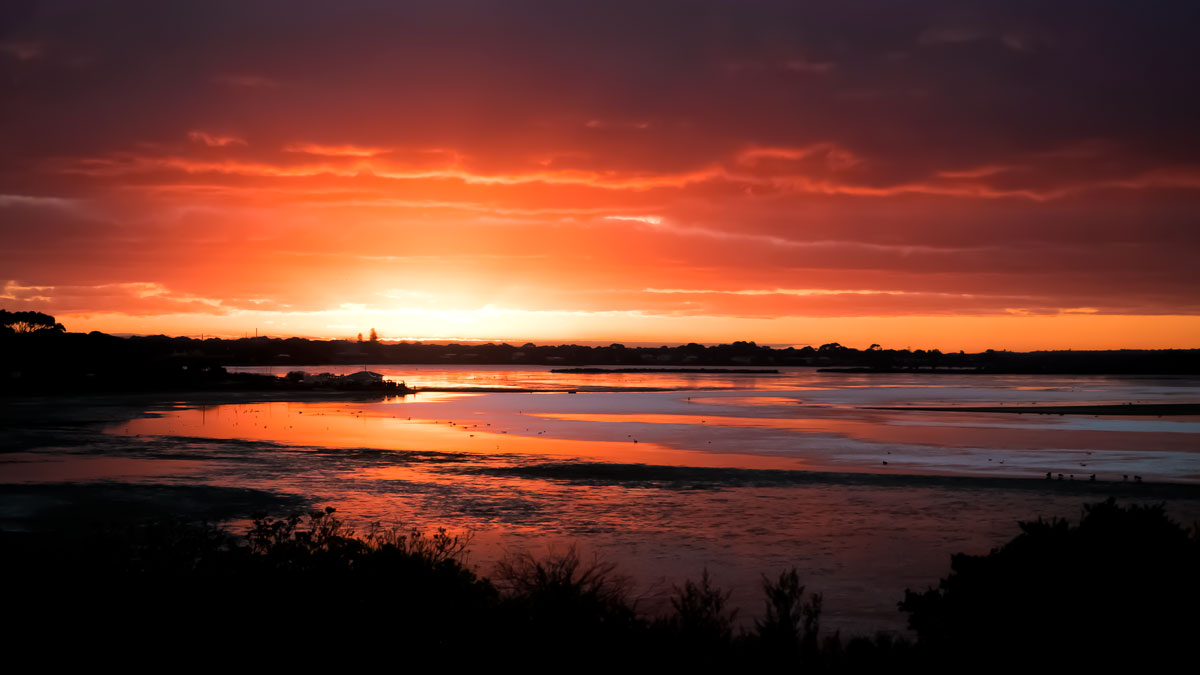Swan Bay Sunset