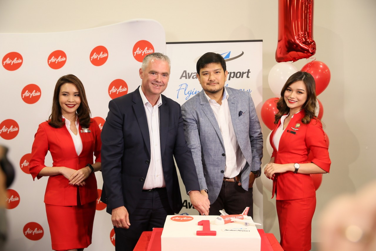 Avalon Airport & AirAsia First Anniversary 5 December 2019