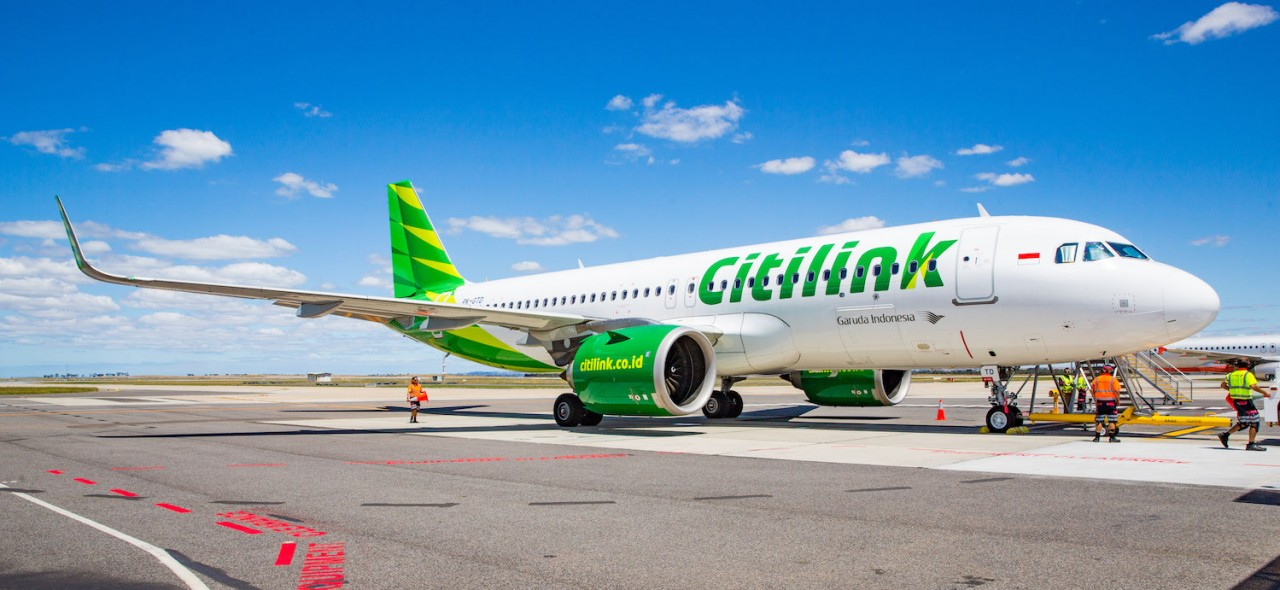 Citilink at Avalon Airport